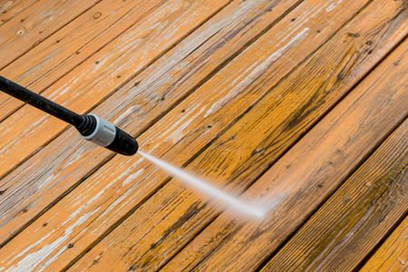When to have deck cleaned